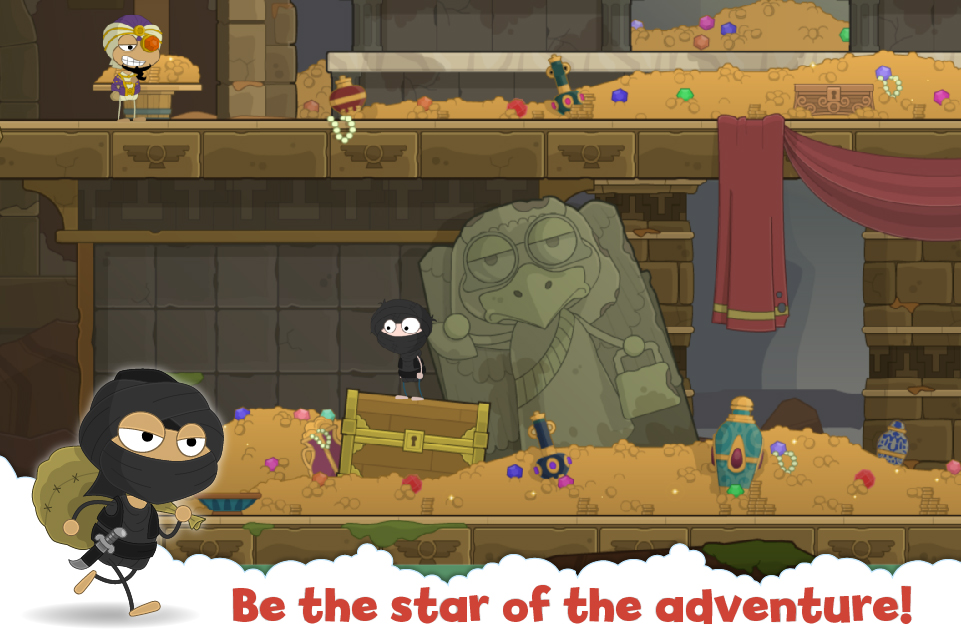 Be the star of the adventure!
