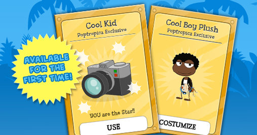 Cool Kid Poptropica Card